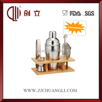 Stainless steel wine bar accessory