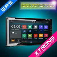 "XTRONS TD696A 6.95"" auto radio car dvd gps navigation Android 4.4.4 Kitkat quad-core with Mirrorlink Wifi 3G Bluetooth"