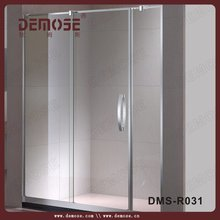 luxury shower rooms/sliding glass shower screens for wet rooms