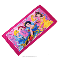 Microfiber terry promotional towel