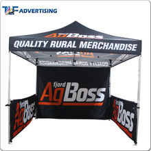 Advertising brand trade show event aluminum folding canopy 3x3 marquee tent with company logo