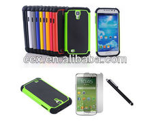 SLIM SILICONE TPU BUMPER CLEAR HARD BACK CASE COVER FOR SAMSUNG GALAXY S4 I9500