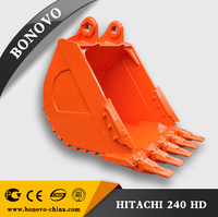 long durability heavy duty bucket for construction machinery EX240/dig bucket for excavator