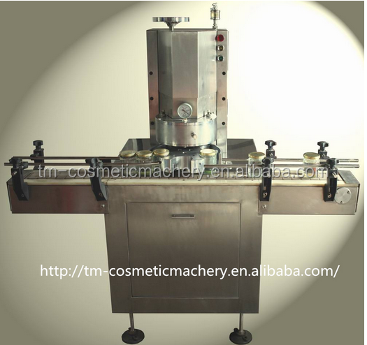 Peanut butter metal bottle cap making machine