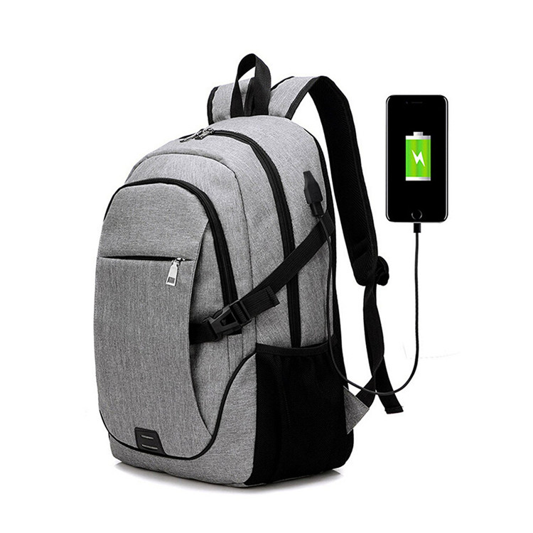 Business Laptop Backpack Waterproof Rain Laptop Camping Bags with USB Charging Port