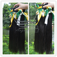 Thick Ending Pure Indian Human Hair Best Selling Straight Wave Wholesale Beauty Supply Distribubors In Guangzhou