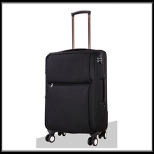 2016 fashion rolling suitcase nylon luggage carrier