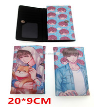Love and Producer Cosplay Japanese Cartoon Anime PU Leather Long Wallet