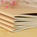 Hot sale customized kraft paper cover offset printing small notebook ,notepad,exercise book