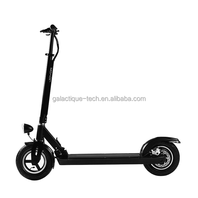 36V 350W Hot sale Foldable 2 wheel electric cargo scooter