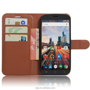 PU Leather Case For Archos 50e Helium, Flip For Archos 50e Helium Cover, Leather Case For Archos 50e Helium