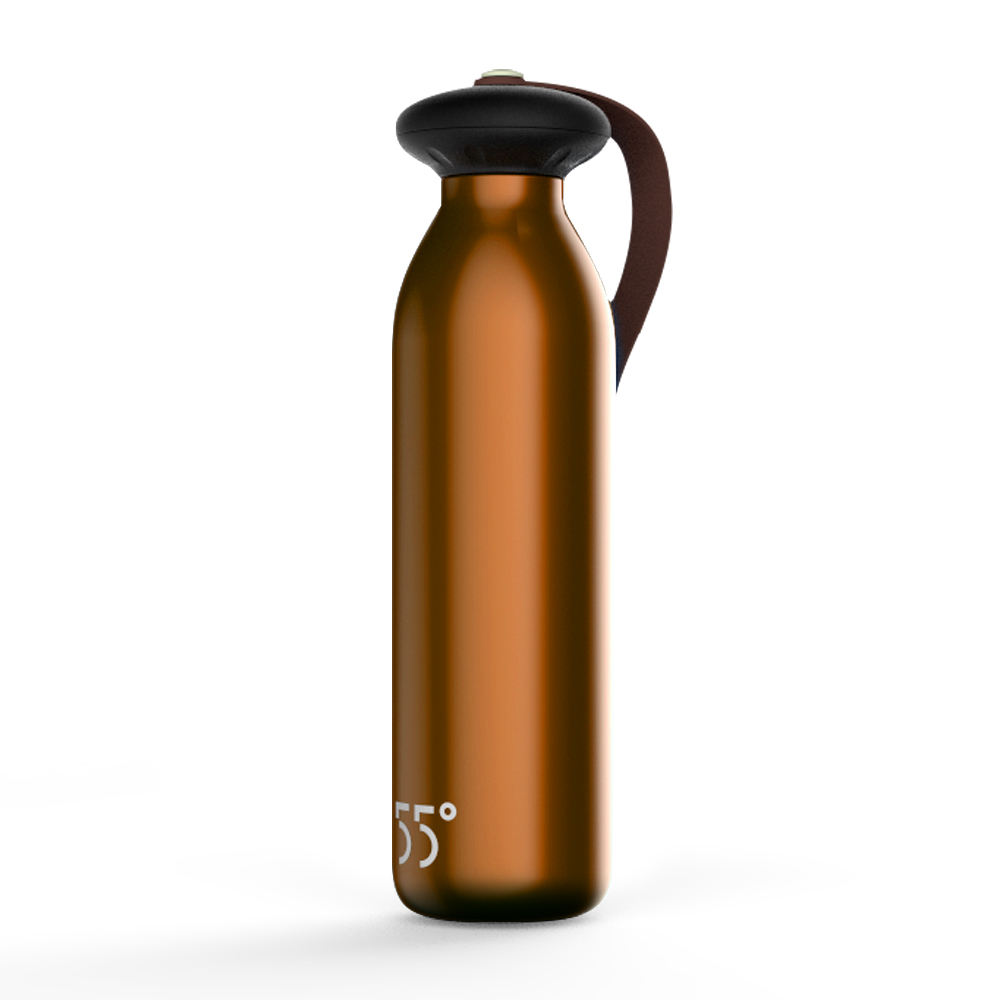 2016 New arrival 55 degree bottle 500ml Insulated Stainless steel water thermos