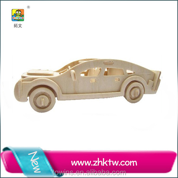Cotowins 3d car puzzle Wooden Toy Car Suppliers Manufacturers car toy wood