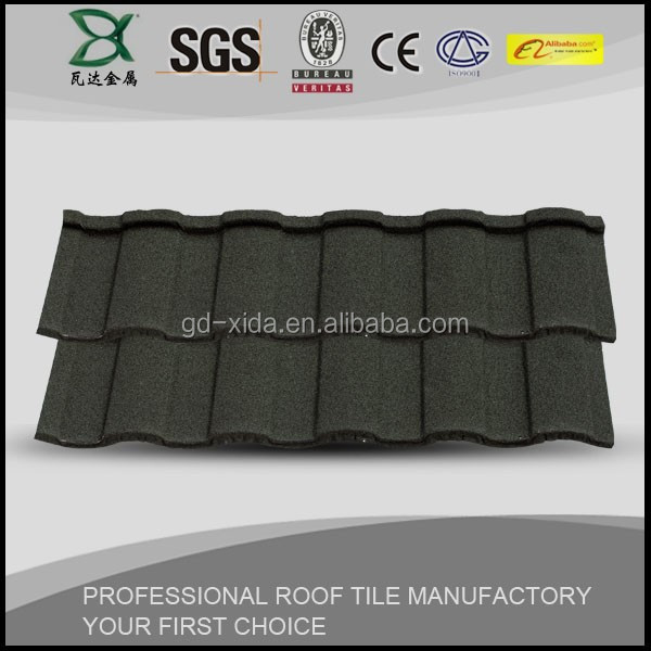 1340*420 mm synthetic terracotta ceramic metal roof tile