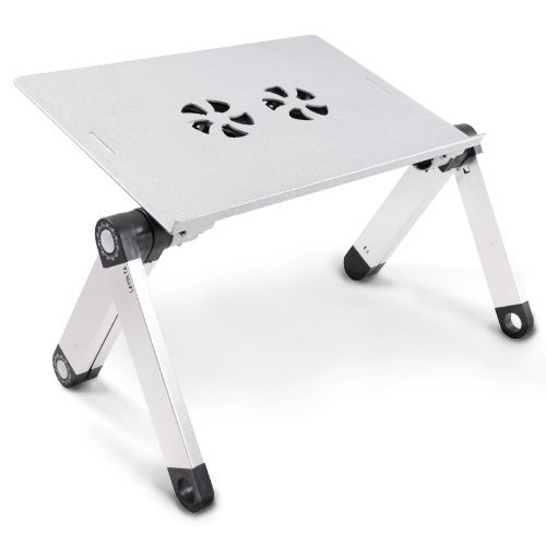 Adjustable Folding Laptop Bed Table Mouse Notebook Computer Holder
