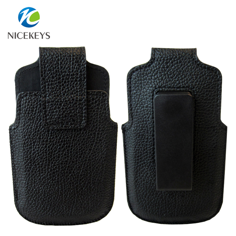 Leather Belt Holster Cover Pouch Hang Rotating Waist Clip Phone Case