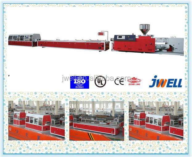 JWELL - Automatic Double Screw PVC Small Profiles Extrusion Lines