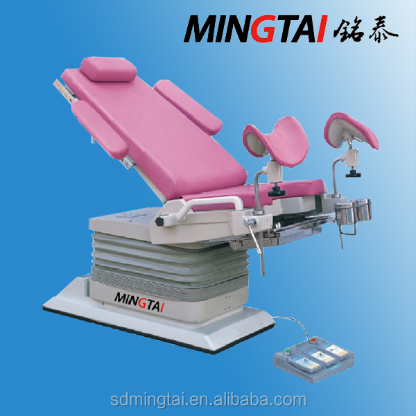Electric Hydraulic Portable Gynaecology Examination Table / Medical Chair