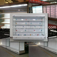 Commercial Supermarket Refrigerator Showcase For Fruit