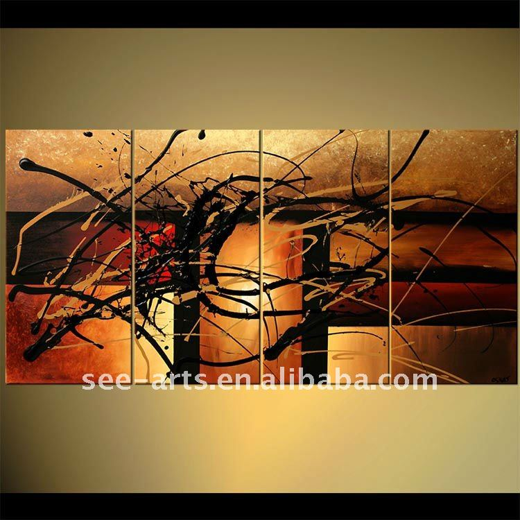 canvas fabric painting designs art