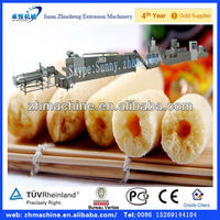 Extrusion cream puffs making machine