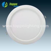 Higher Power Professional 240x12mm Flat LED Panel Light 18W Round