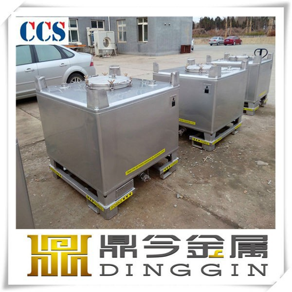 ss316 stainless steel fish ibc tank
