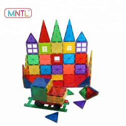 2018 Learning Toys for Kids Children Preschool Baby Adults /Magnetic Tiles Building Set/Construction Blocks