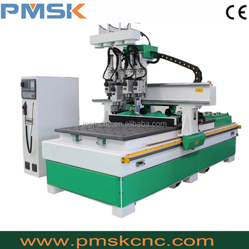 multi spindle furniture cnc rotuer for wood cutting machine
