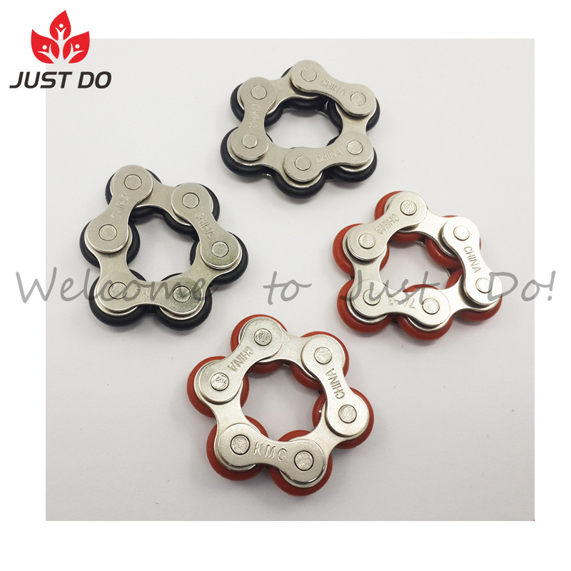 Key Ring Hand Spinner Fidget Desk Toy