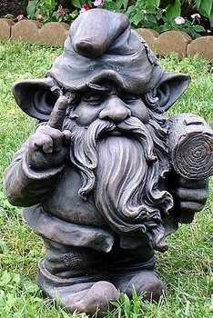 Statue - Gnome with Mallet statue