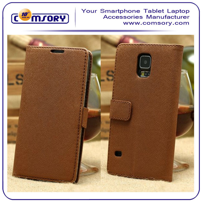 Cross Wallet Leather case for SAMSUNG Galaxy S5 i9600