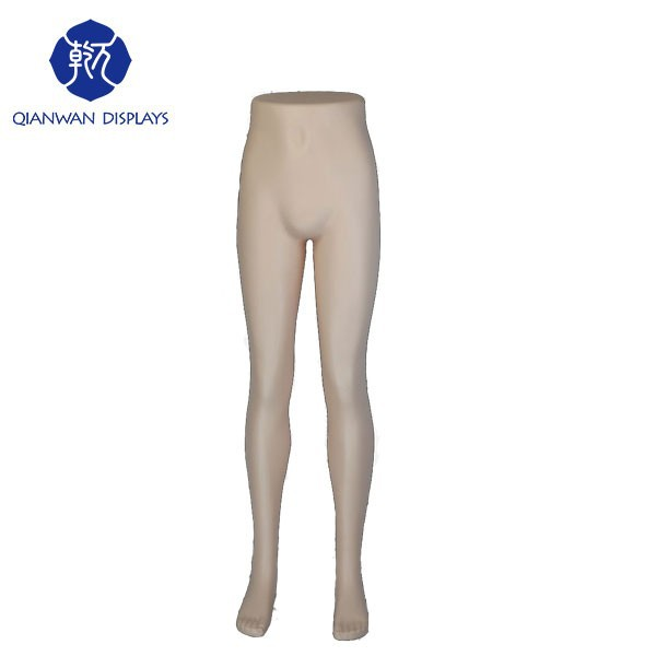 Fashion sex half female leg mannequin for trousers,pants,stockings in China