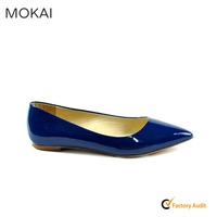 MK031-12 2016 New design comfortable shoes women flat shoes with tassels OEM/OEM shoes wholesale