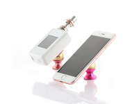 Magic stand with 360 Rotation Magnet Car e cigarette Holder / magnetic car mount holder