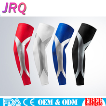 Wholesale Outdoor Slim Shaper Sport Compression Protective Elastic Arm Elbow Sleeves Elastic Sunblock Cool For Cycling