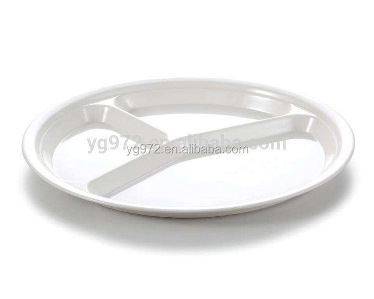 Alibaba wholesale cheap divided dinner plates