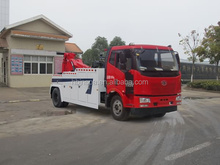 New FAW Medium Duty Wrecker Tow Truck For Sale