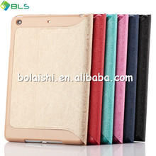 2014 Hot Sale For ipad mini case/smart leather case