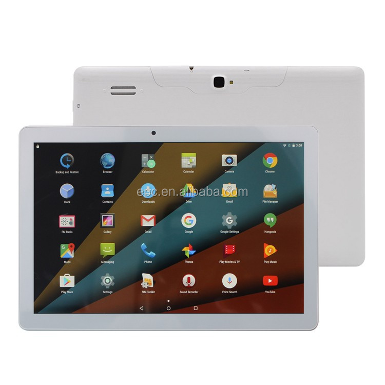 Best Seller 10.1 inch Tablet Pc 1280*800 IPS MTK8321 Quad Core 1GB 16GB Android 5.1 OS WCDMA 3G 850 1900 2100