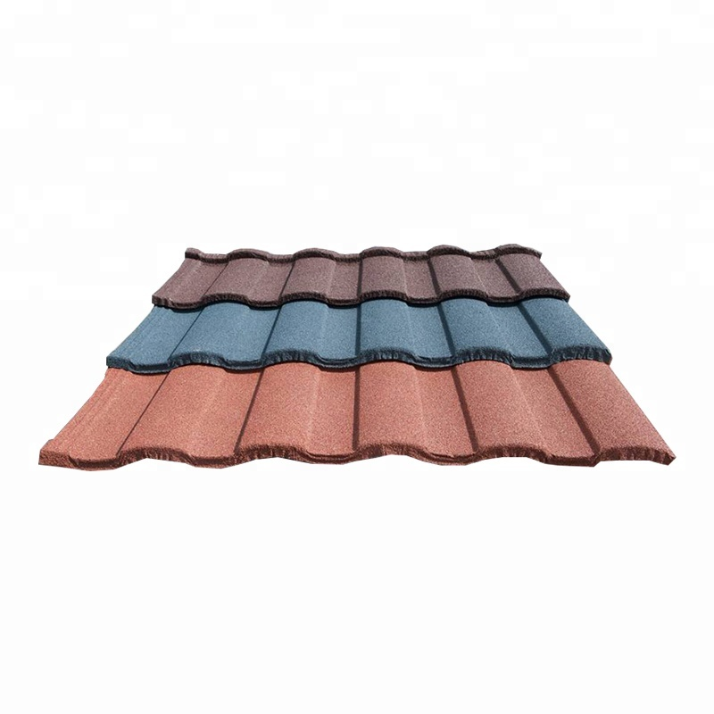 Metal Stone Color Coated Alu Zinc Roof Tile