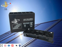 High Quality 12V 17Ah Sealed Lead Acid Battery For UPS, Alarm Systems Low Self-Discharge Rate UPS Battery