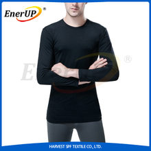 Black Copper Compression Tshirt Dry Fit