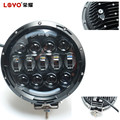 "New Arrival!! LOYO 7"" 105W high low beam round work led light offroad accessories 4x4 auto parts"