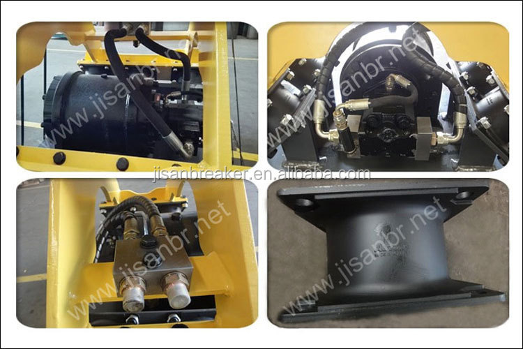 good price plate compactor price for excavator in 23~30 ton
