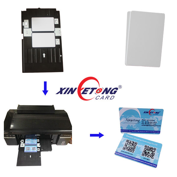Epson R330 R290 L800 Inkjet ID Card Tray /Suit For CR80 PVC Card