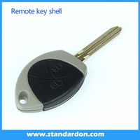 Car remote key housing remote key case Malaysia 2 button blank key for Toyota