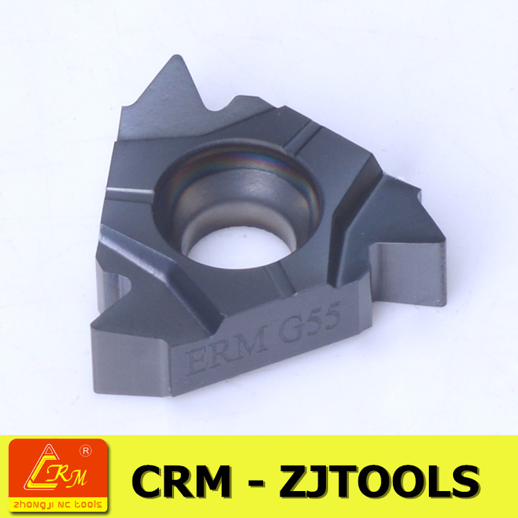 crm zjtools AG60 partial profile cemented tungsten carbide threading insert