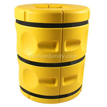 Hot Sell Proofing Rubber & Plastic Foam Corner Guard, outside corner protector Yellow Rubber Column protector baby