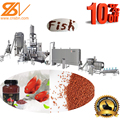 Floating fish feed/food processing line